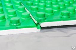 Теплоизоляционная плита координатная ламинированная